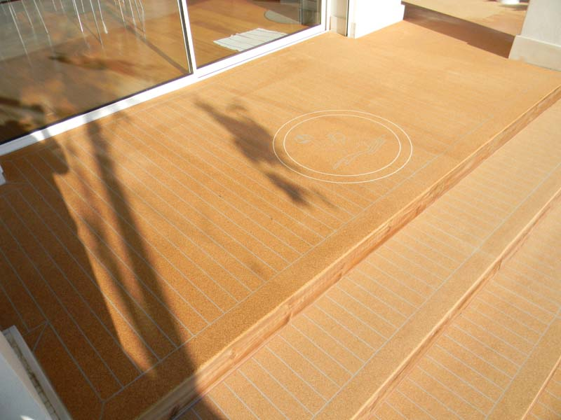 Seacork As Safer Replacement For Cement Or Tile Around Swimming Pool Seacorkseacork