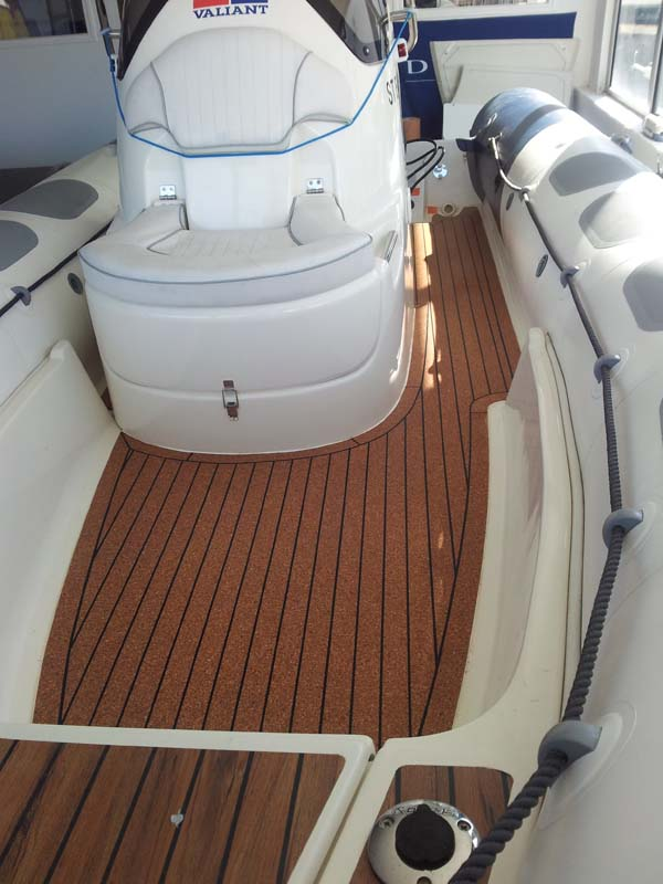 Cork Deck Rib Inflatable Valiant3
