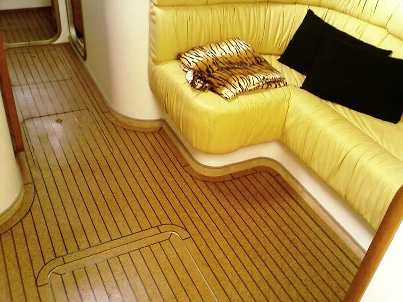 Luxury Cabin Cruiser With New Cork Sole Seacorkseacork