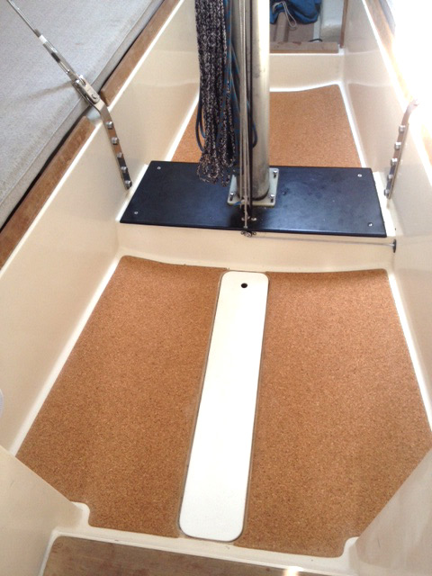 Soverel Racing Sailboat With New Cork Cabin Sole