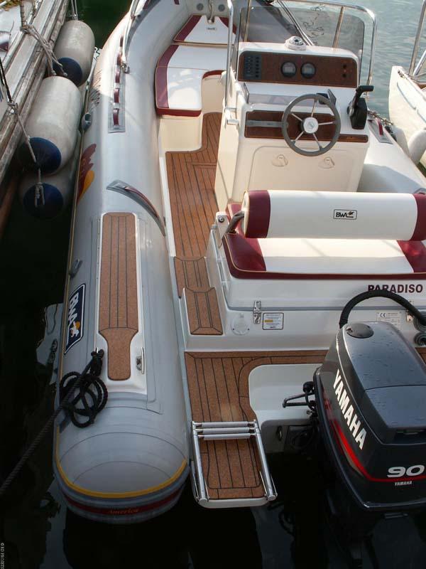 Cork Boat Decks